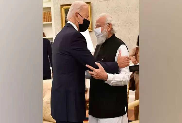 PM Modi discovered Biden's relative in India?