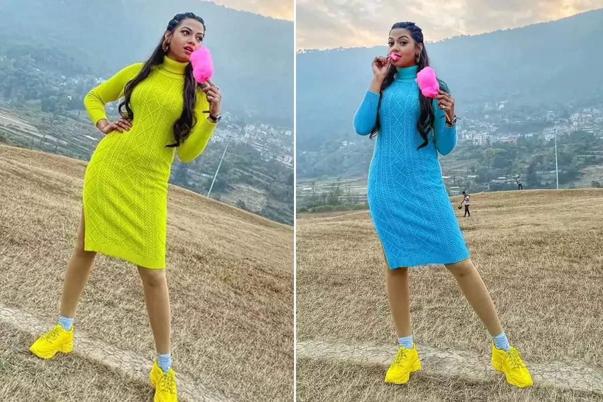 Photos: Bihar girl Raksha Gupta is ready to make a splash in Bhojpuri, you will also say wow!