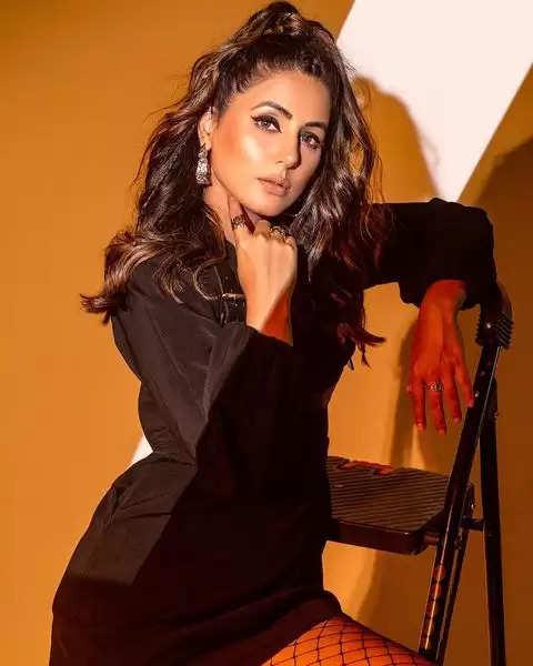PHOTOS: - Hina Khan got the latest photoshoot done, see photos here