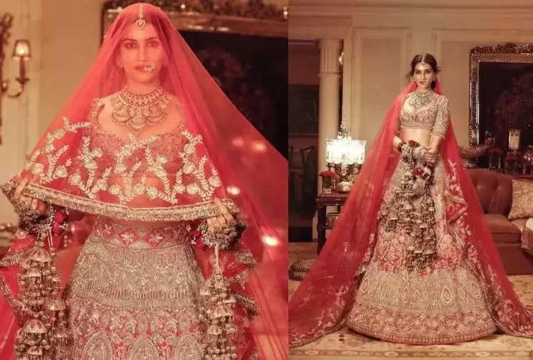 FASHION TIPS : Kriti Sanon stuns in Manish Malhotra's bridal lehenga, this dress is perfect for wedding