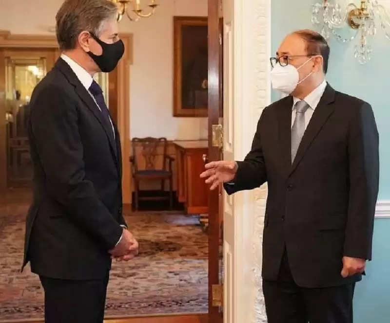 Foreign Secretary said - Pakistan raised the Taliban, India-US two plus two talks too soon