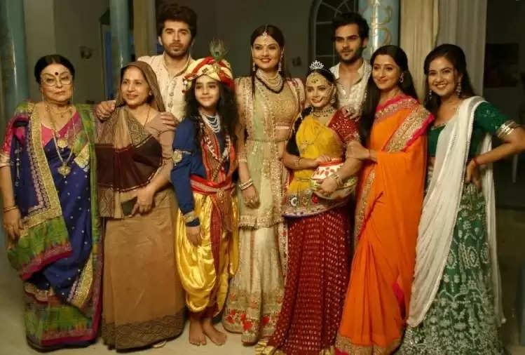 Janmashtami 2021 : On the sets of 'Ranju Ki Betiyan', Kanha's birth anniversary celebrations, artists dazzled in desi costumes
