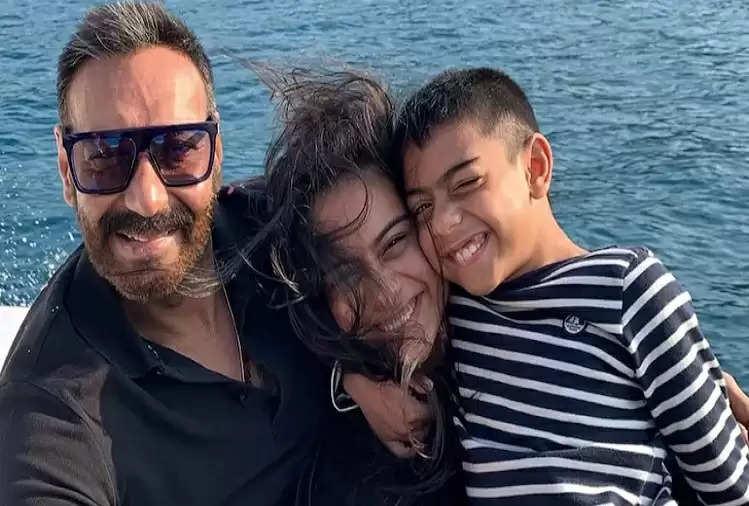 Social media : Ajay Devgan's son Yug turns 11, the actor wished his birthday like this
