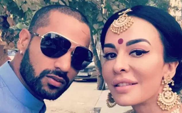 Shikhar Dhawan and Ayesha Mukherjee divorced, wife shares very emotional post