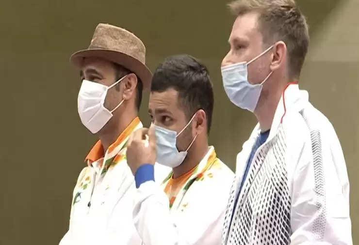 Gold and silver together : Manish targets gold medal in Tokyo, Singhraj gets silver medal