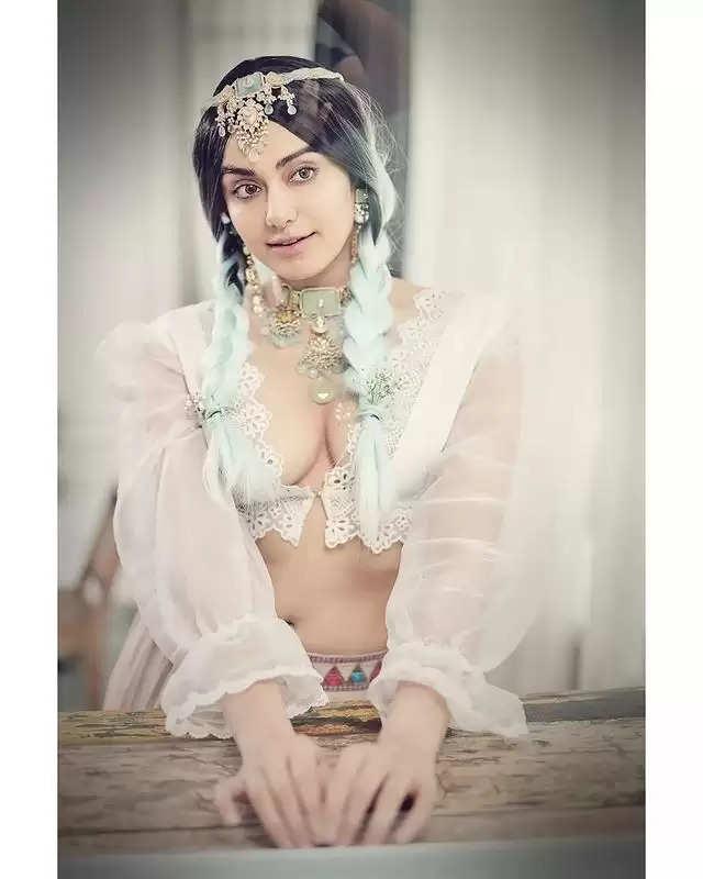 PHOTOS: - Ada Sharma got the latest photoshoot done, see photos here
